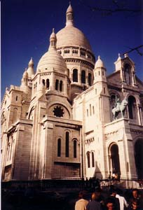 The Sacre Coeur in 1987